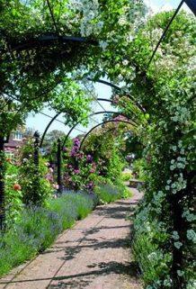 Rosenlauben in Reihe von Classic Garden Elements DE