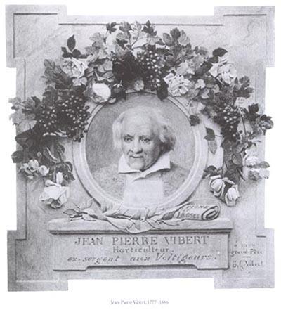 Rosenzüchter Jean-Pierre Vibert 1777 - 1866