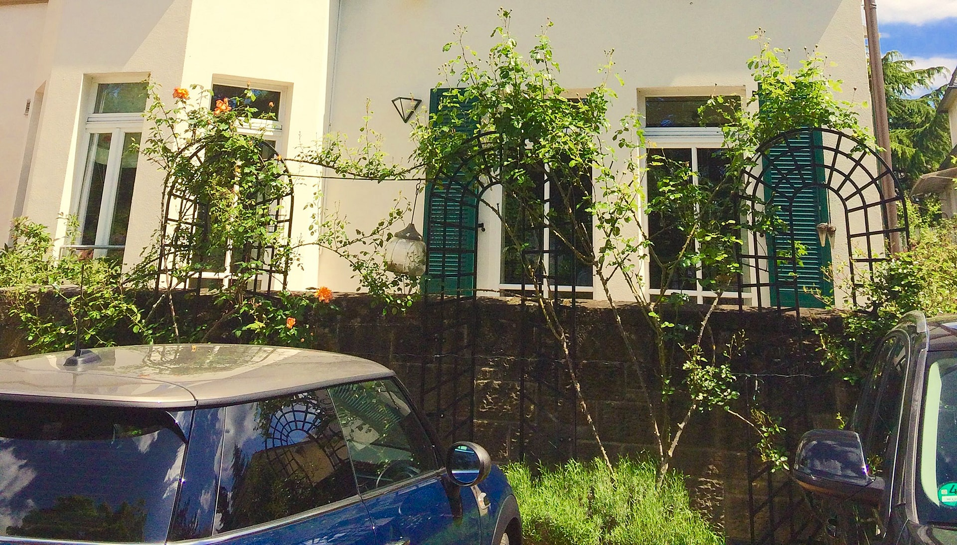 Grosse Rankhilfe Trompe-l'œil Classic Garden Elements