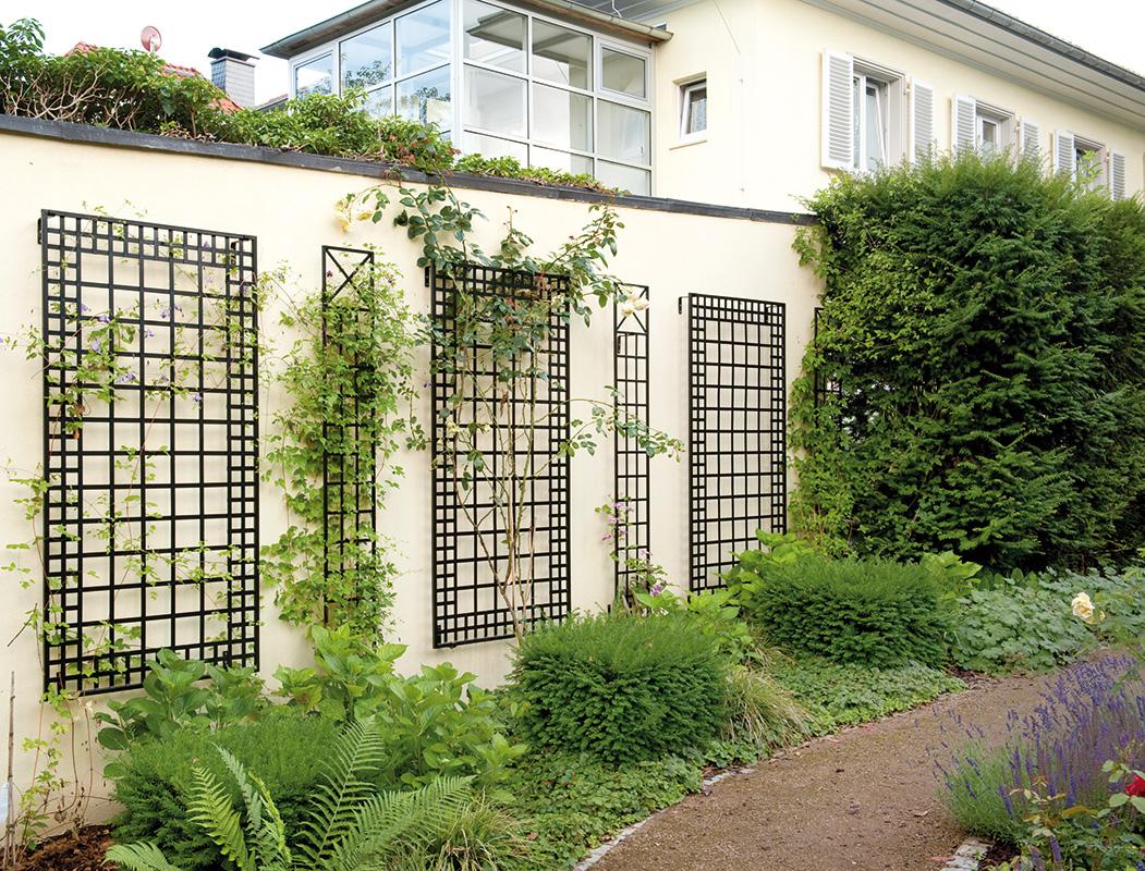 Wandgitter Kombination von Classic Garden Elements