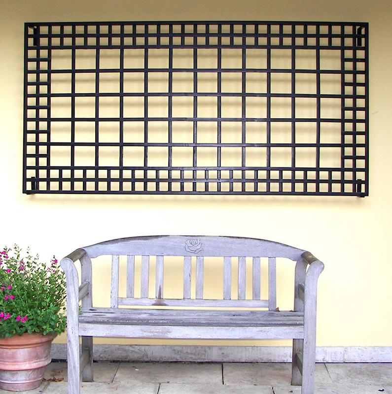Exklusives Wandspalier von Classic Garden Elements