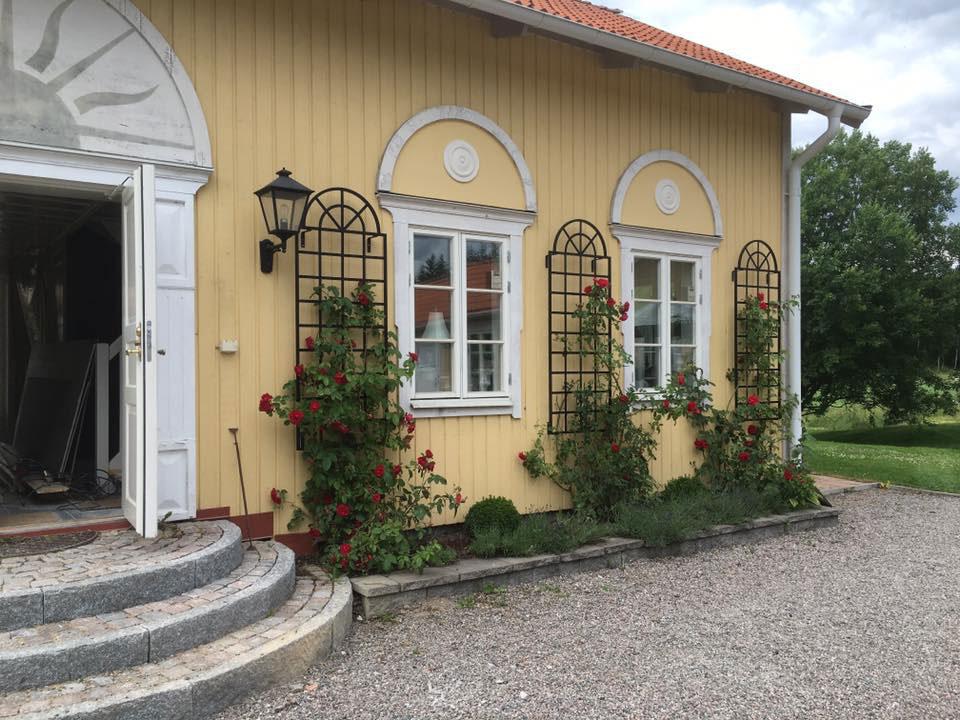 Orangerie Spalier in Schweden