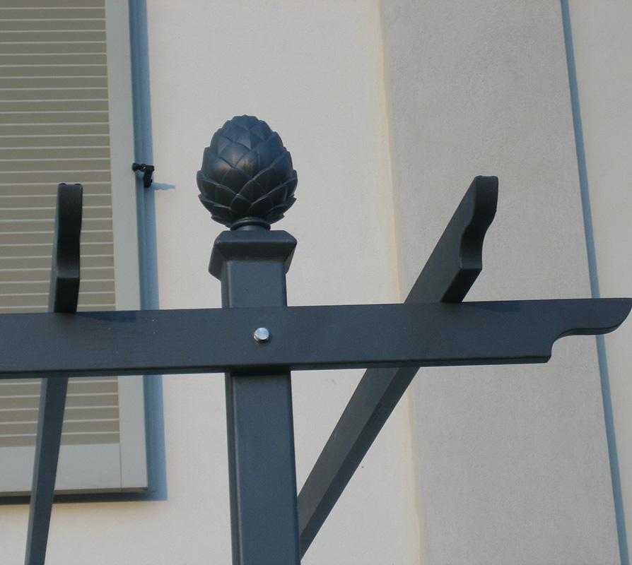 Pergola Piemont Detail