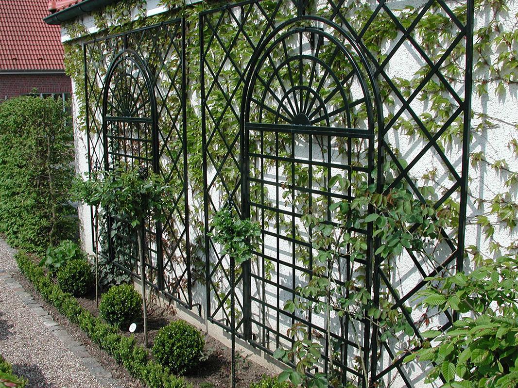 Treillage trellis trellises for walls - Treillis metal jardin ...