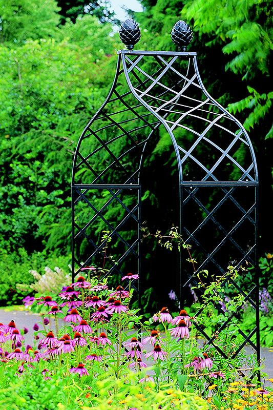 viktorianischer metall rosenbogen kiftsgate