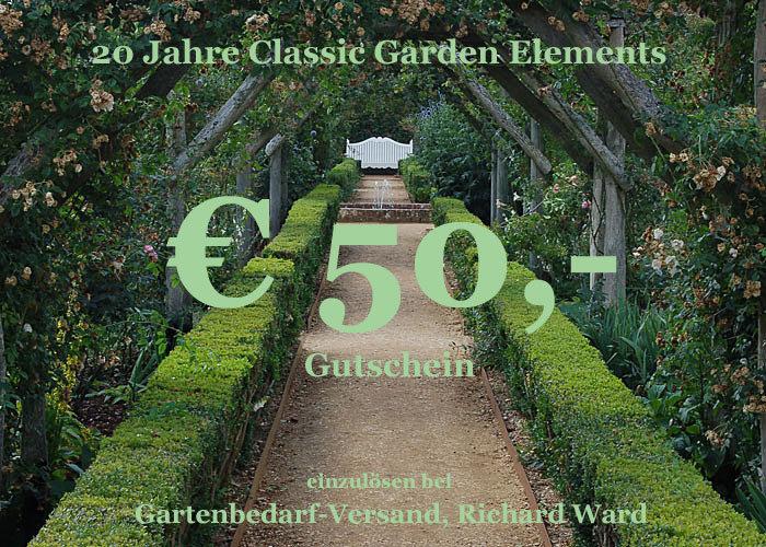 Classic Garden Elements Gutschein