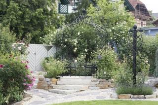 Rankobelisk aus Metall, Rankhilfe Garten,