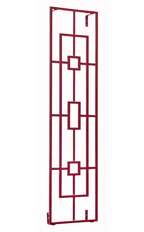 Kleines asiatisches Rankgitter Hongkong aus Metall