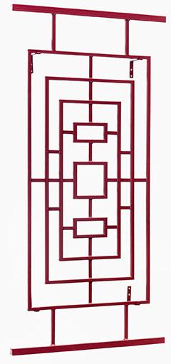 a Asiatisches Rankgitter aus Metall Hongkong im Mass 100 x 200 cm