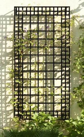 Wand Rankgitter aus Metall Modell Exklusives Wandspalier
