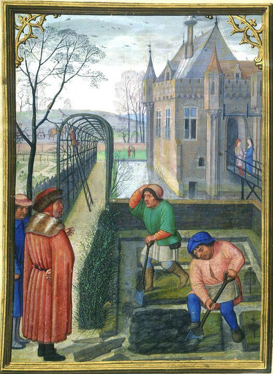 Medieval Pergola