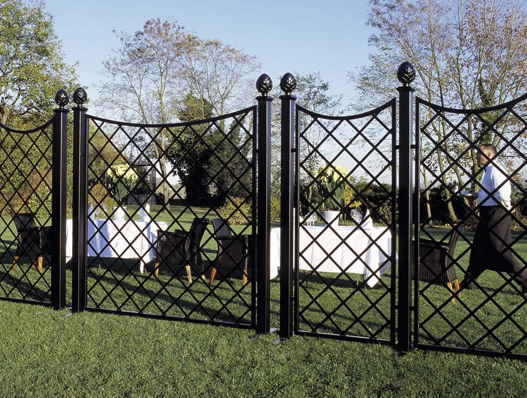Bauhaus Sichtschutz Aus Metall Fur Den Garten Vom Hersteller Kaufen
