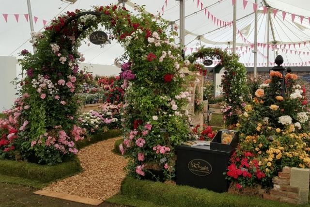 Chelsea Flower Show Metall Rosenbogen