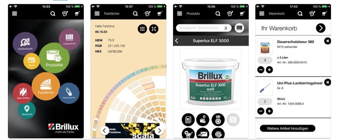 Farb App für Gartenmöbel und Gartendeko