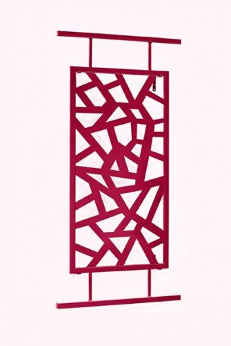 Japanisches Rankgitter TorII in Rot 200 x 100 cm