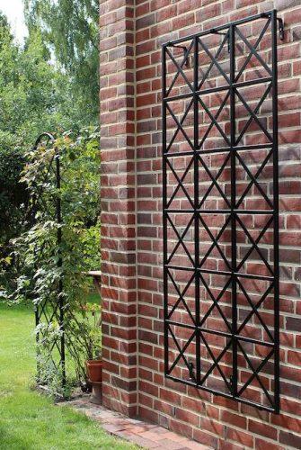 Metall Wandspalier Ravenna aus Metall