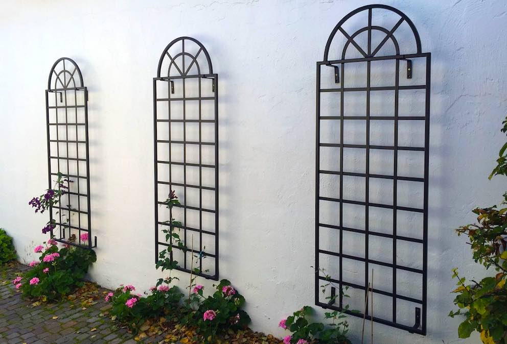 Metallspalier Wandgitter für Clematis 185 x 70 cm