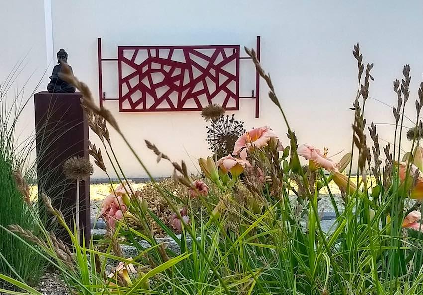 Torii Rankgitter japanese Style quer an Wand