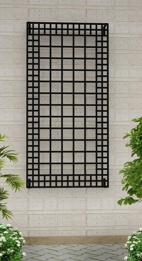Wandspalier aus Metall 200 x 1000 cm