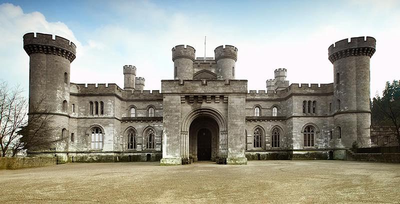 Eastnor Castle Vorbild für Gitterspalier