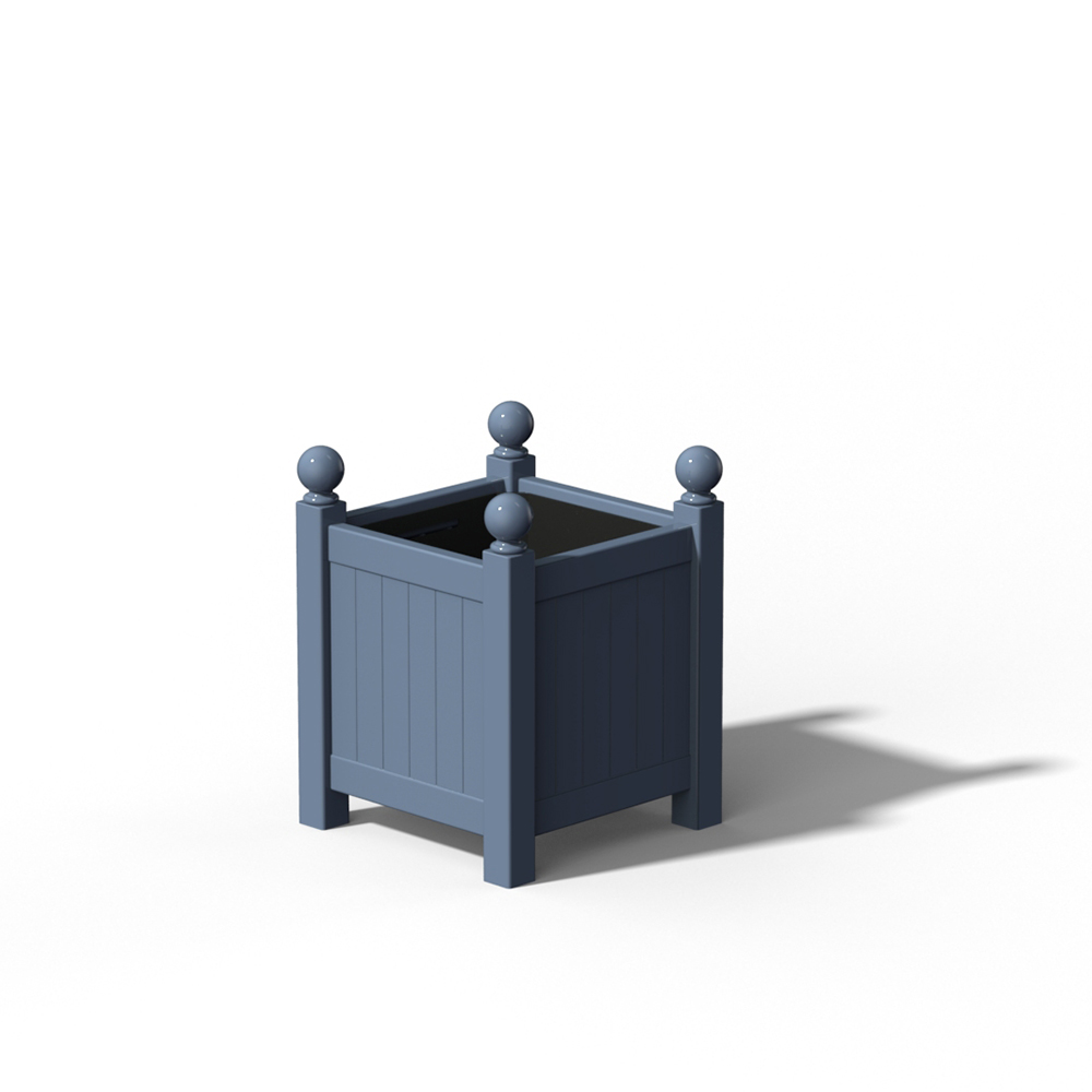 R16 Kleiner Versailler Pflanzkübel in RAL 5014 Pigeon Blue