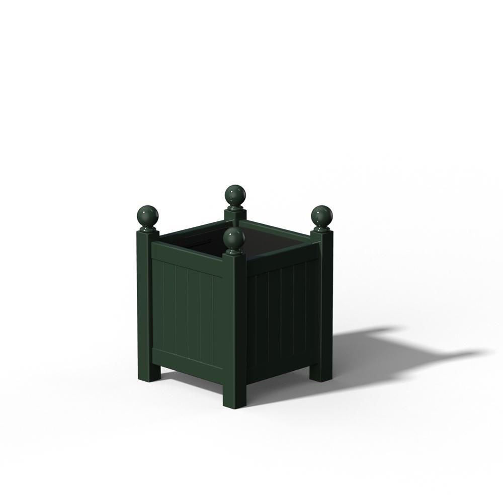 R16 Kleiner Versailler Pflanzkübel in RAL 6012 Black Green