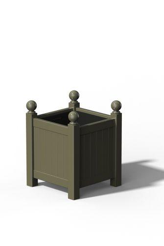 R16 Kleiner Versailler Pflanzkübel inRAL 7034 Yellow Grey