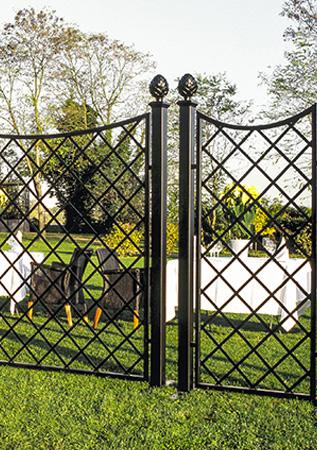 trenngitter zaunanlagen classic garden elements
