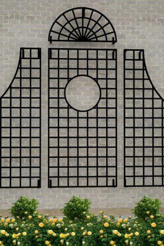Feuerverzinktes Wandgitter Lamport Grand Set in 260 x 320 cm Größe