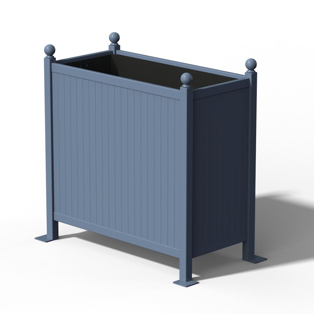R25 Versailler Pflanzkübel Raumteiler in RAL 5014 Pigeon Blue
