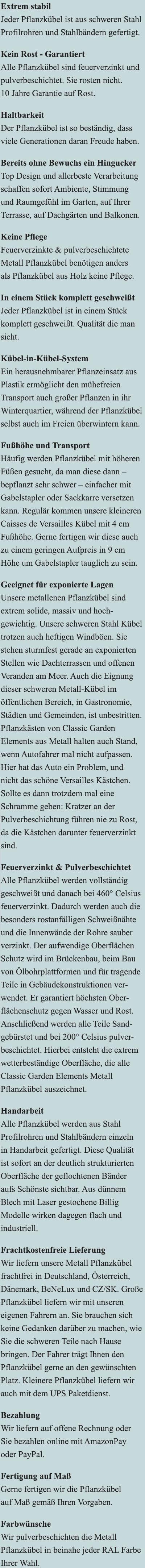 Vorteile des Rosenpavillon Zweibrücken aus Metall