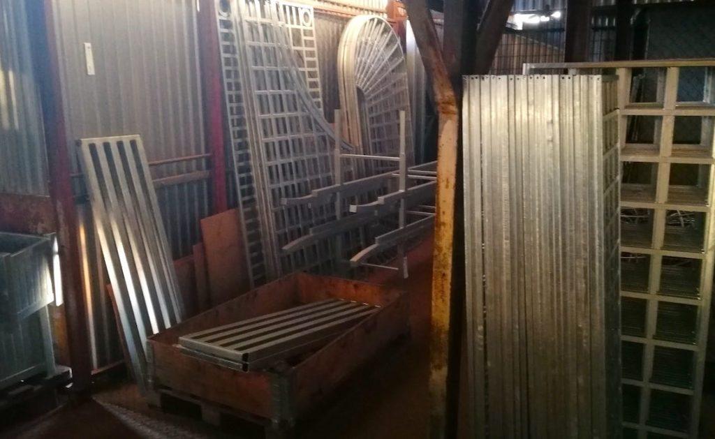 Metall Vorbereitung Rankgitter