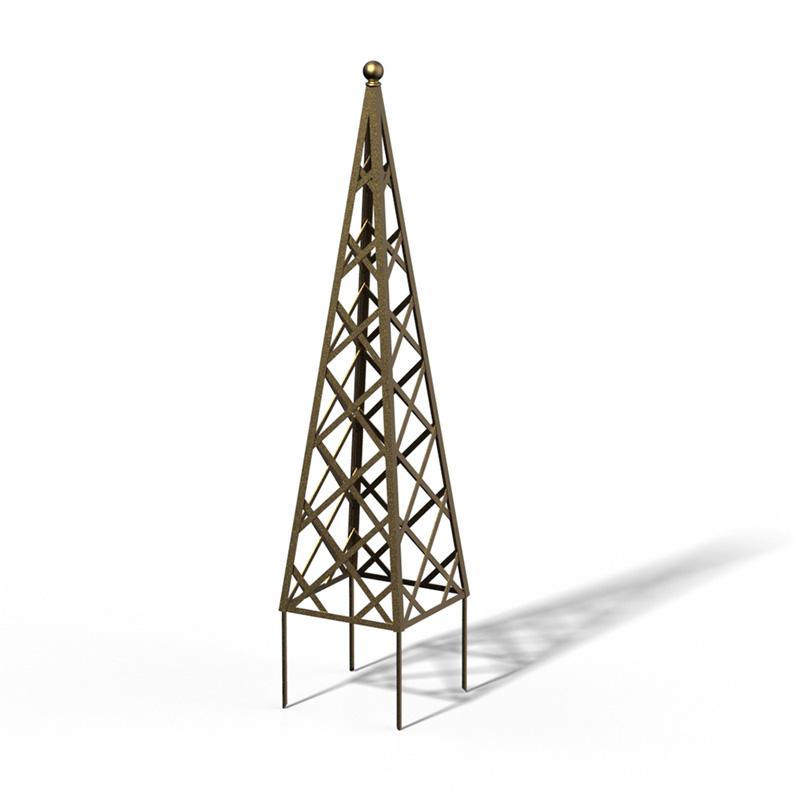 R23-PY-0 Pyramide Rankhilfe Kendon Gold