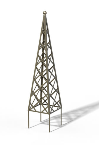 R23-PY-0 Pyramide Rankhilfe Sterling Silver