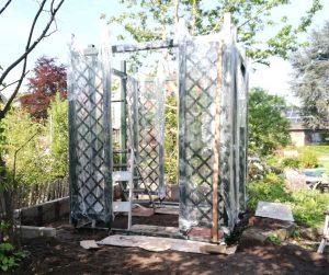 Aufbau Metall Gartenpavillon 1