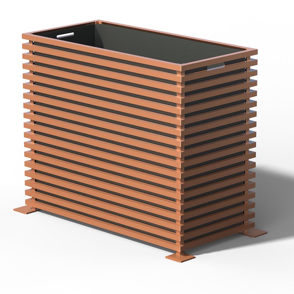 E25 IBIZA Raumteiler Pflanzkübel Copper Light