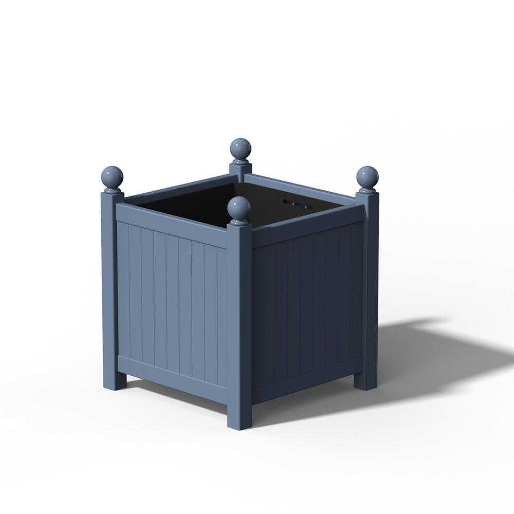 R23 Grosser Versailler Pflanzkübel in RAL 5014 Pigeon Blue