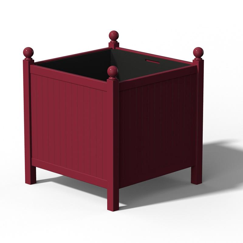 R24 Versailler Pflanzkübel Park RAL 3005 Wine Red