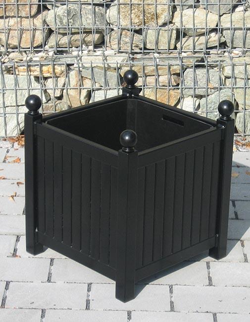 Versailler Pflanzkübel aus Metall mit Kübel-im-Kübel System