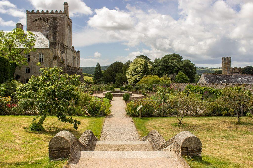 Schlossgarten in England