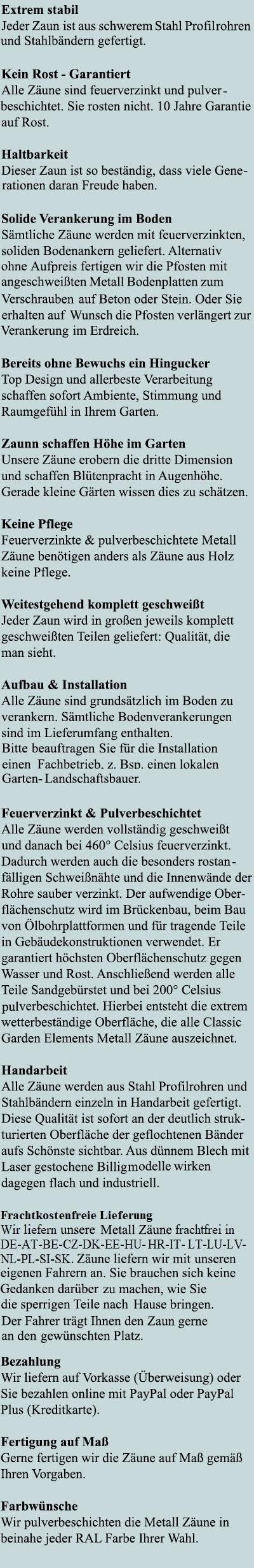 Vorteile des modernen Trenngitter Bauhaus
