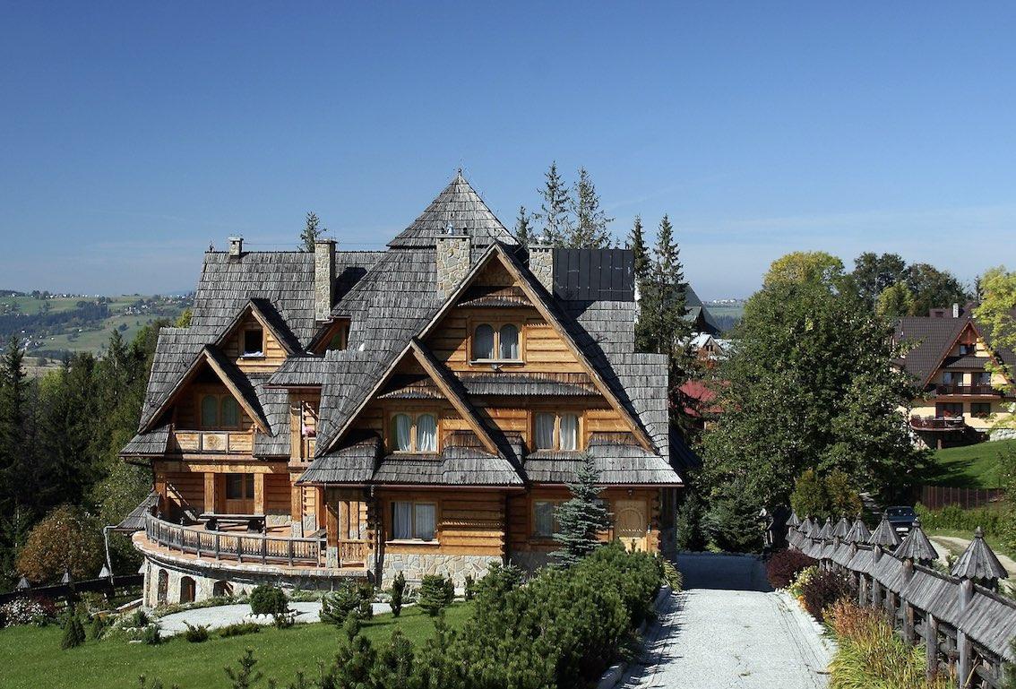 Haus in Polen aus Holz