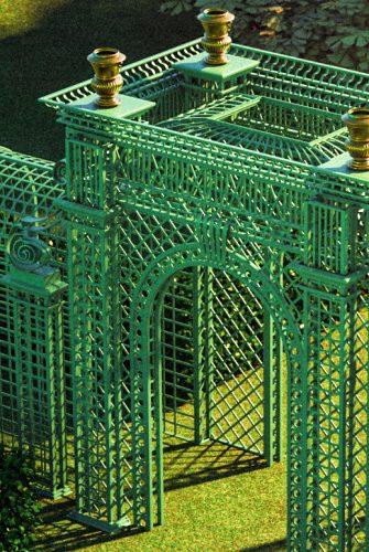 Versailles Treillage LOUIS IV - Detailphoto