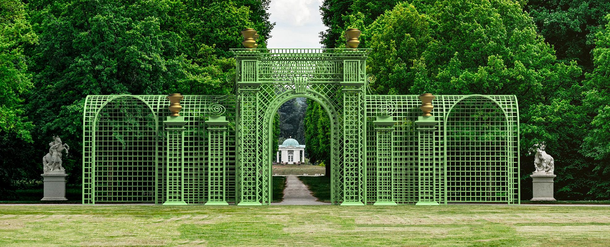 Versailles Treillage LOUIS IV Frontansicht