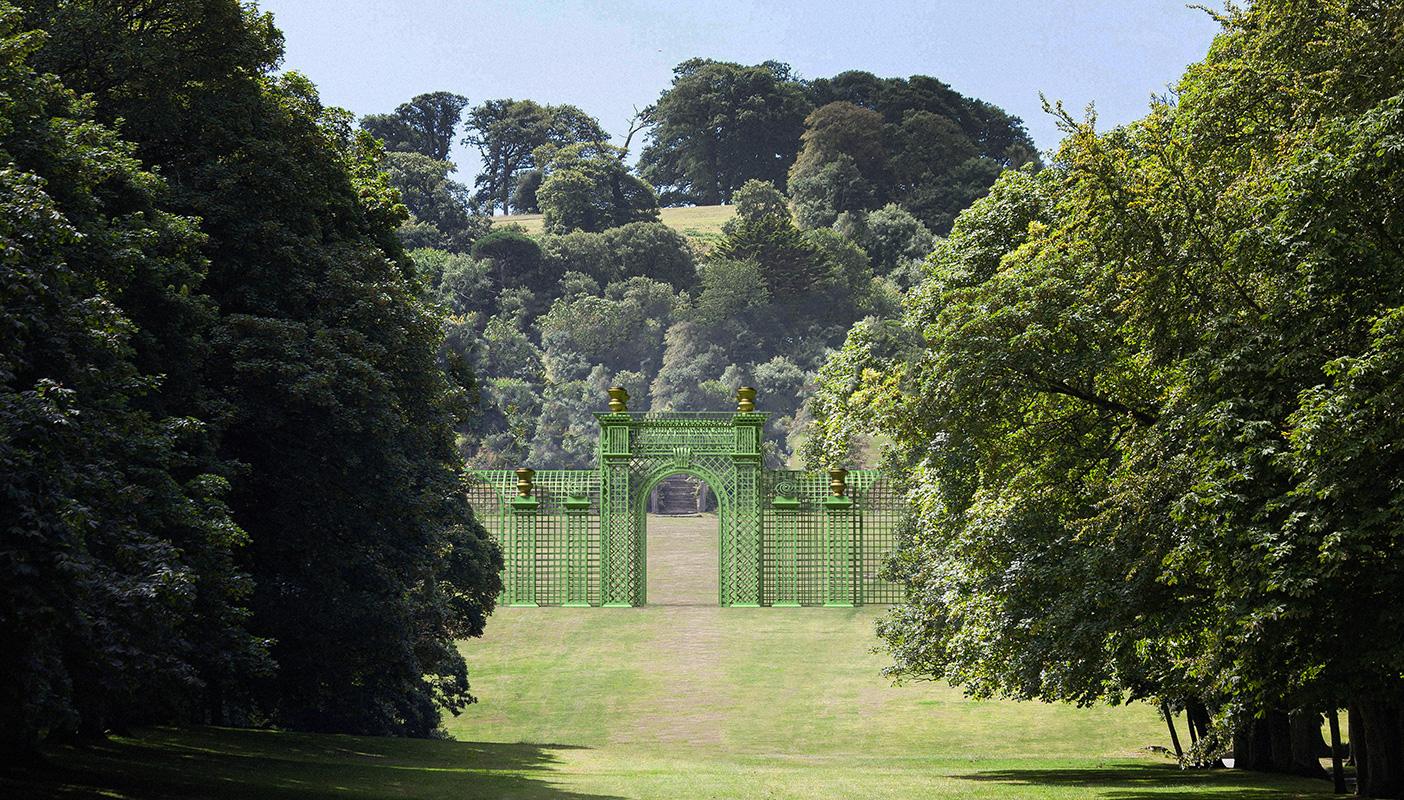 Versailles Treillage LOUIS IV romantischer Atmosphäre