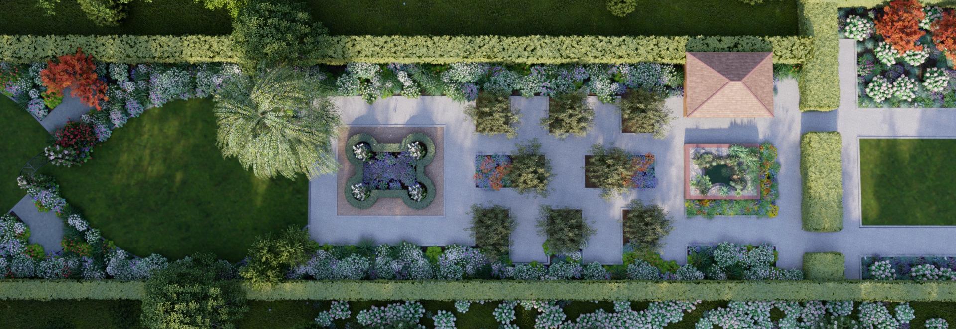 Aufbau Garten