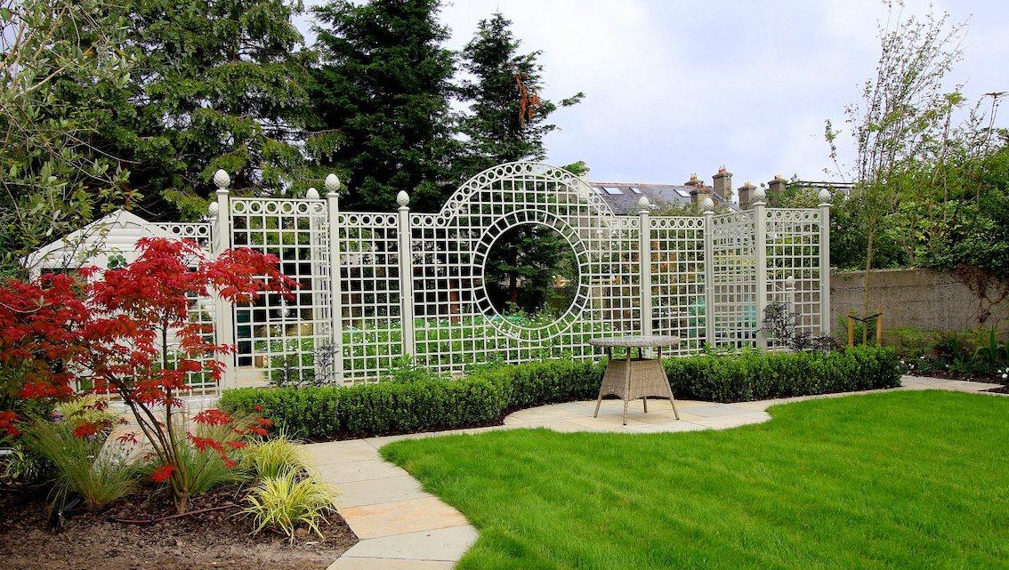 Metall Treillage Trennwand für Garten nach Maß